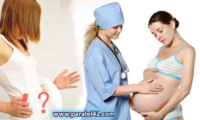 Симптоми на цветна бременност