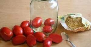 съхранение на домати за зимата