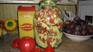 съхранение на домати в буркани
