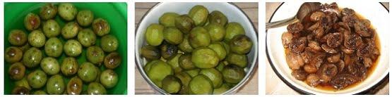 зелени орехчета с ракия и мед з