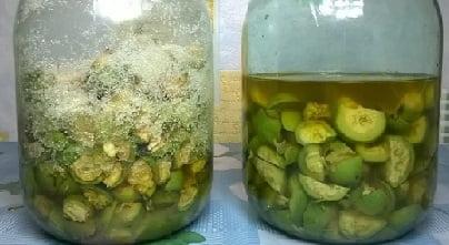 зелени орехчета за високо кръвно