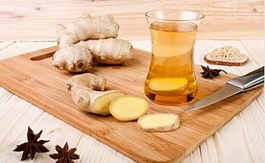 рецепти за чай с джинджифил за отслабване и лечение