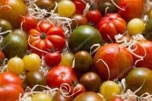 съхранение на зелени домати в стърготини и моркови в буркани