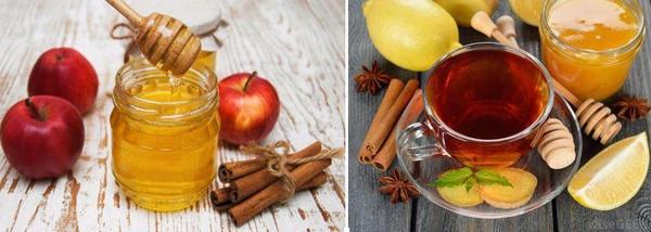 мед и канела рецепти + ябълки