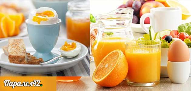 02- Диета с яйца и портокал