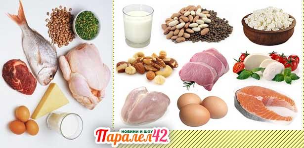 несъвместими храни и разделно хранене