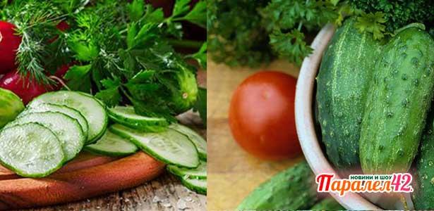05 Диета с краставици: Краставичена каша за отслабване